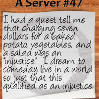Random Thoughts From A Server 47 | Restaurant Laughs