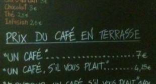 Excusez-moi? French cafe charges rude customers extra – NBC News.com