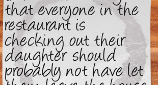 Random Thoughts From A Server 58: You Let Her Leave The House In That? | Restaurant Laughs