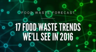 Food Waste Forecast: 17 Food Waste Trends We'll See in 2016