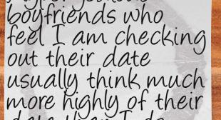Random Thoughts from a Server 63: Jealous Boyfriends   Restaurant Laughs