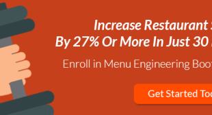 Menu Engineering Bootcamp: Increase Restaurant Sales [Free Download]
